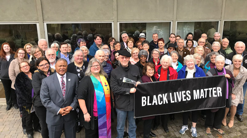 Black Lives Matter banner photo
