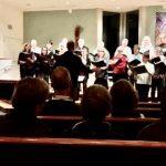 Evening choir concert (with UUCC), 2.29.2020
